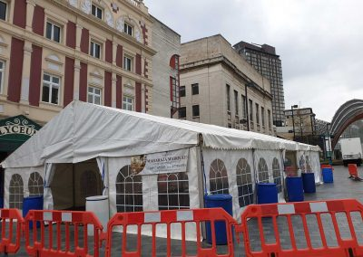 city centre marquees for hire
