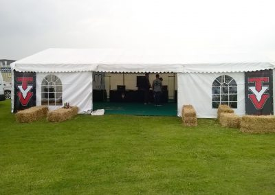 marquee hire for festivals and music events
